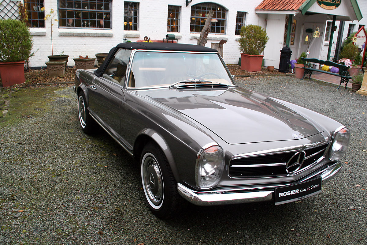 mercedes benz 280 sl pagode w 113 classic sterne. Black Bedroom Furniture Sets. Home Design Ideas