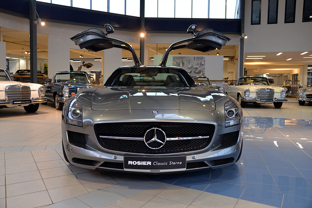 mercedes benz sls amg gt coup classic sterne. Black Bedroom Furniture Sets. Home Design Ideas